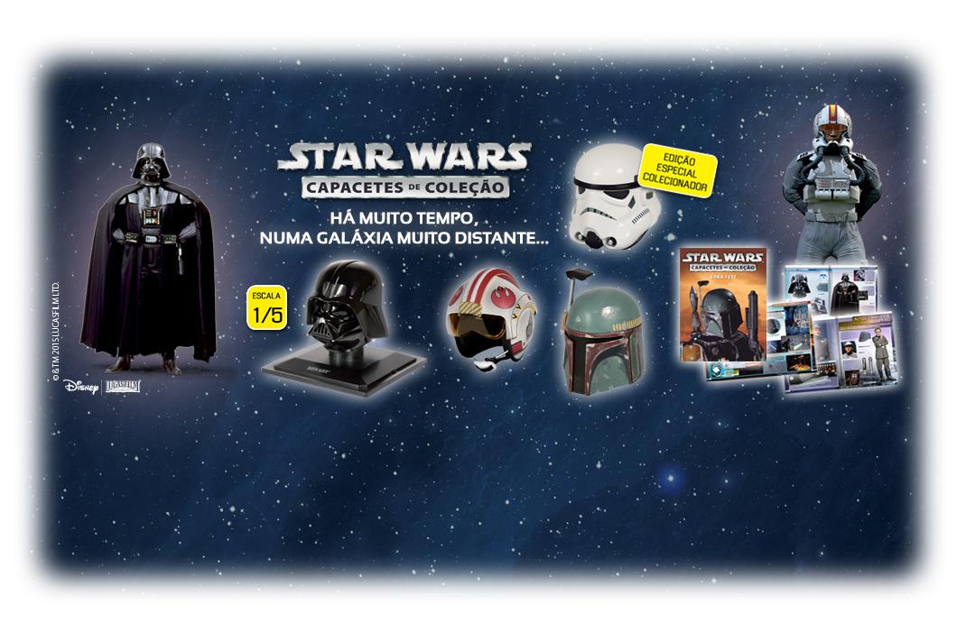 Capacetes Star Wars de volta! (Planeta DeAgostini)
