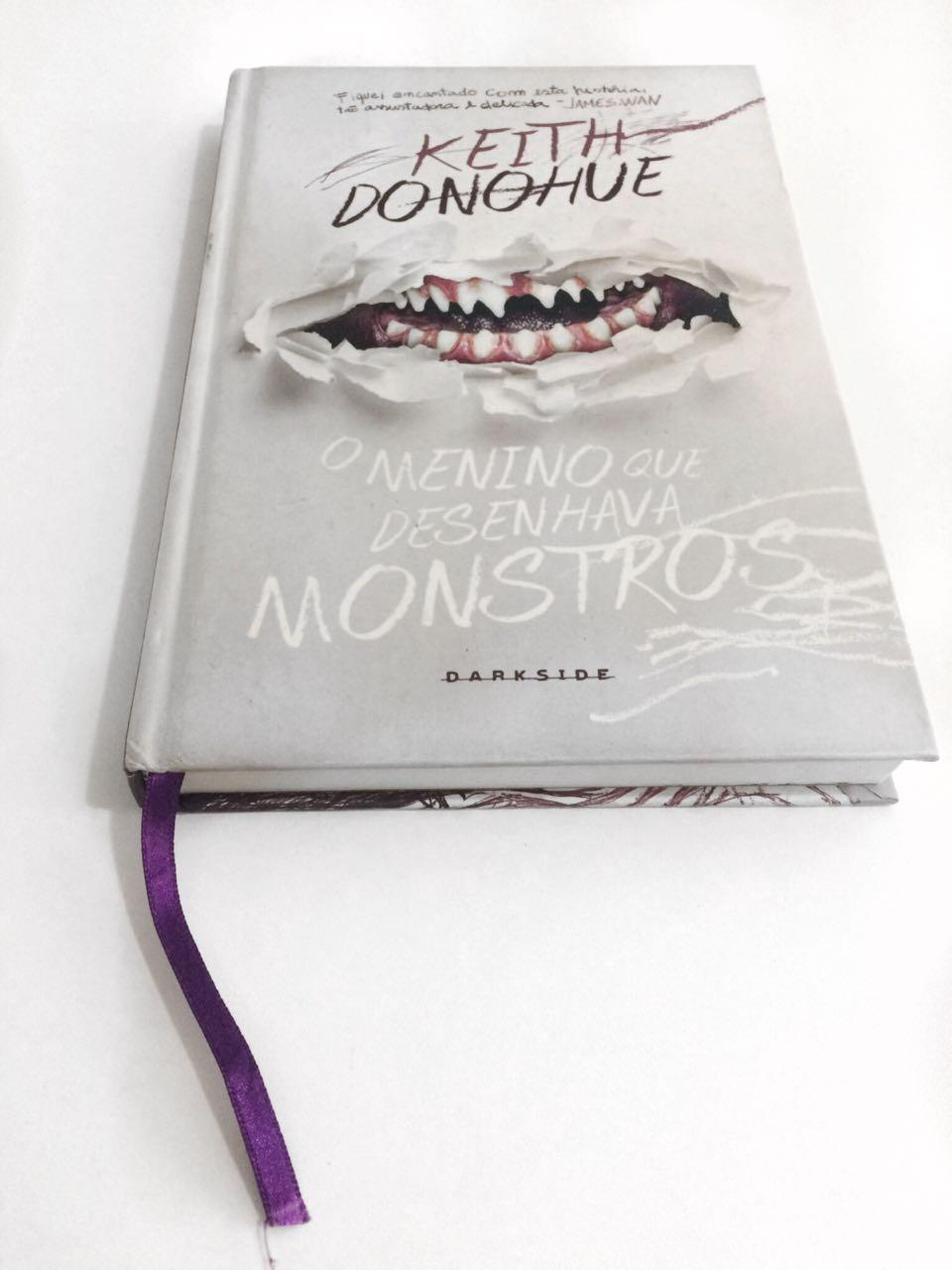 O menino que desenhava monstros – Keith Donohue